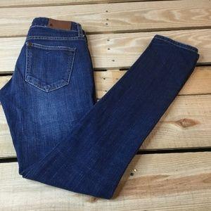 H&M SQIN Fit Women's Jeans Skinny W24 x L30 Blue